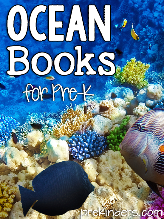 Ocean Books for Pre-K