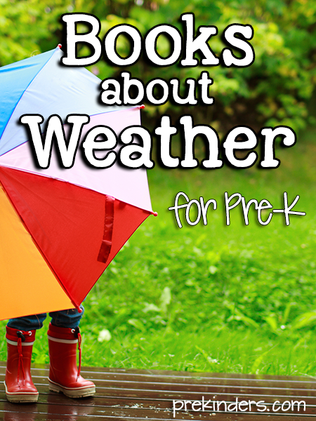 Weather Books for Pre-K