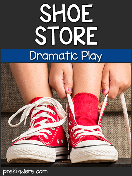 Shoe Store Dramatic Play