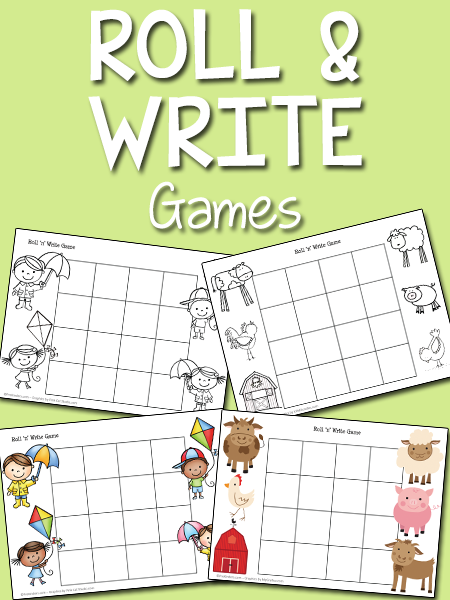 Roll and Write Games