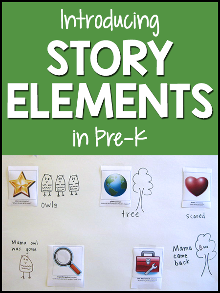 Story Elements in Pre-K