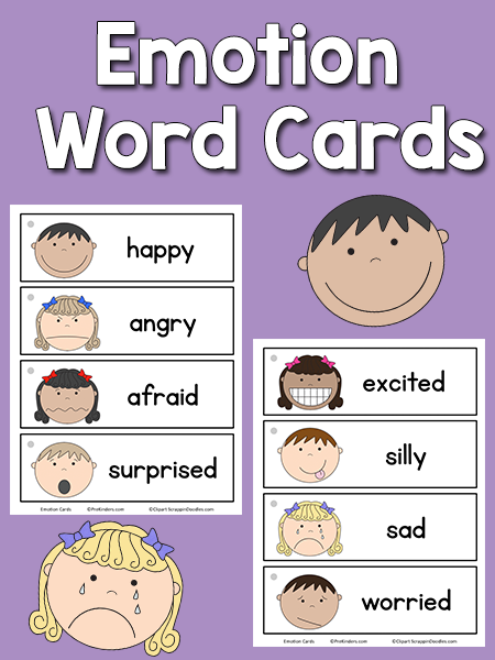 Emotion Word Cards