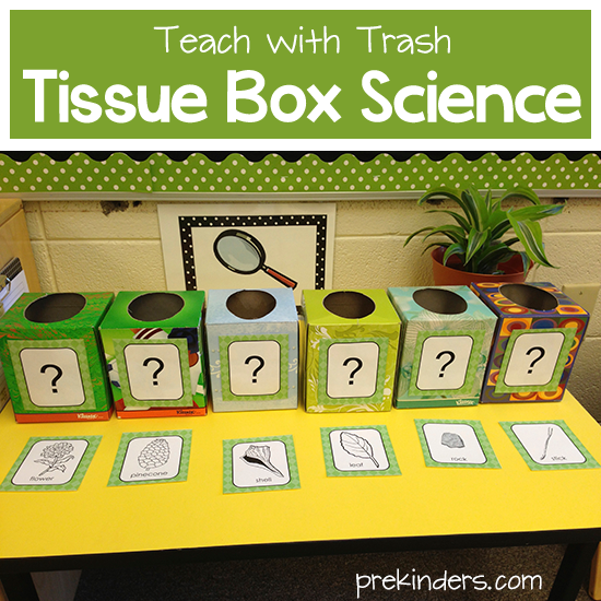 Teach with Trash: Tissue Box Science