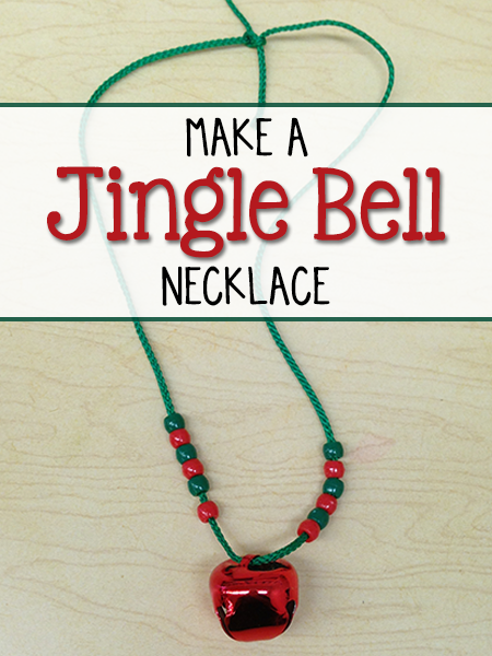 Make A Jingle Bell Necklace Prekinders