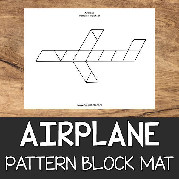 Airplane Pattern Block Mat