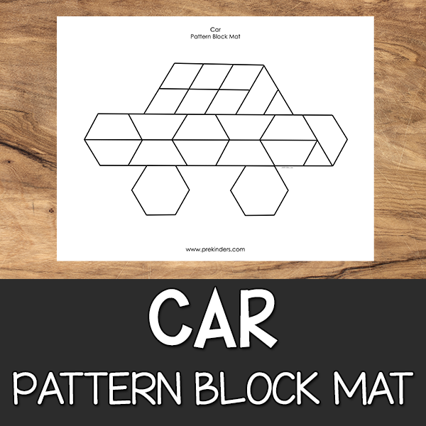Car Pattern Block Mat