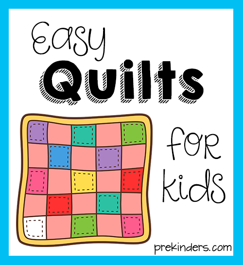 easy quilt patterns for kids - photo #41