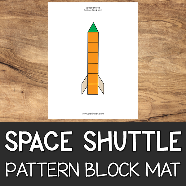 Space Shuttle Pattern Block Mat