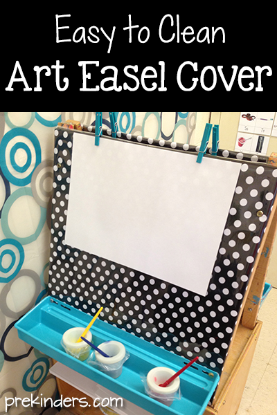 Easy to Clean Art Easel Cover