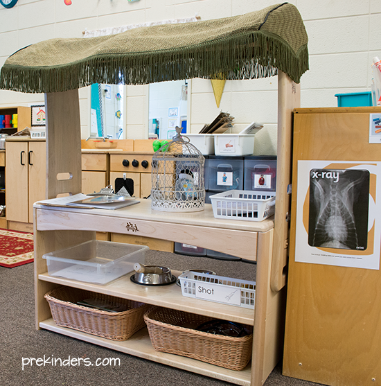 Vet Dramatic Play Center