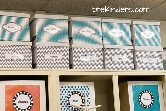 Classroom Storage and Organization