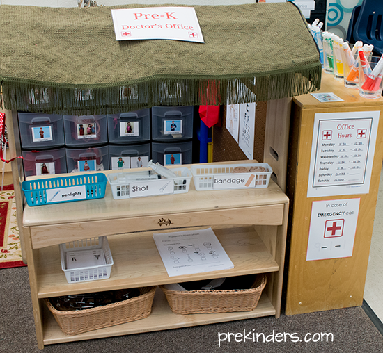 Doctor's Office Dramatic Play for Kids