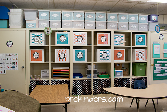 Innovative Classroom Supplies : Classroom organizing tips prekinders