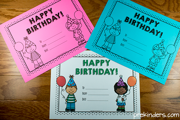 Birthday crown certificate chart prekinders printable birthday certificates for teachers yadclub