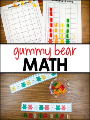 Gummy Bear Math - Pre-K Preschool