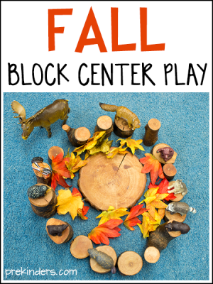 Fall Block Play Ideas