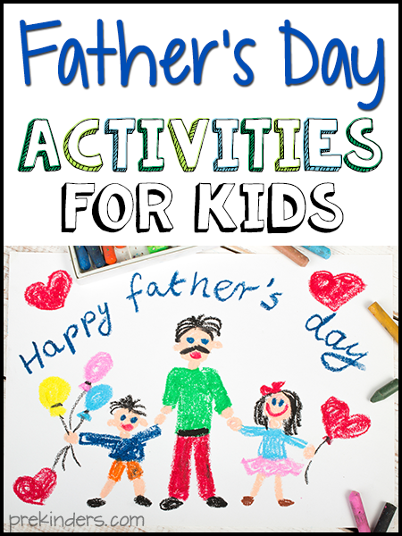 Father's Day Activities for Kids - PreKinders