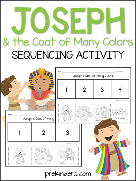 Joseph & the Coat: Sequencing Activity