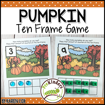 Pumpkin 10 Frame Game