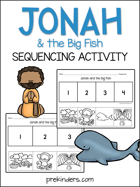Jonah & the Big Fish: Sequencing Activity