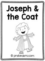 Joseph & the Coat Print & Fold Book