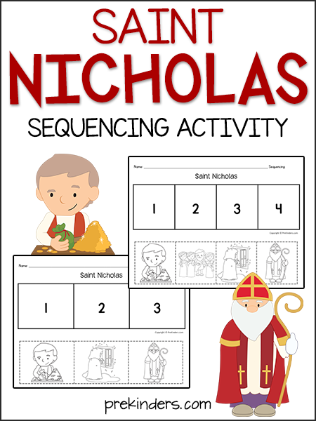 Saint Nicholas: Sequencing Activity