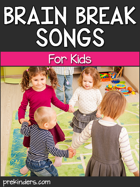 Brain Break Songs for Kids: Music and Movement