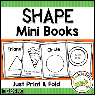 photograph about Printable Shape Book referred to as Form Envision-Phrase Playing cards - PreKinders