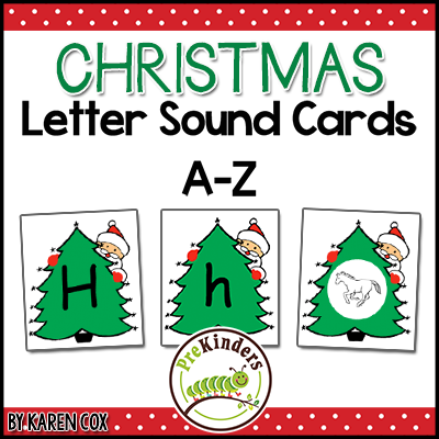 Christmas Letter Sound Cards