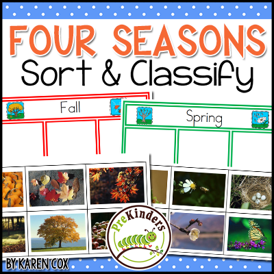 Seasons Sort and Classify