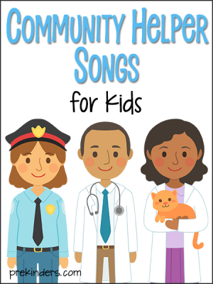 picture relating to Community Helpers Printable Book named Local Helper Actions and Lesson Designs for Pre-K and