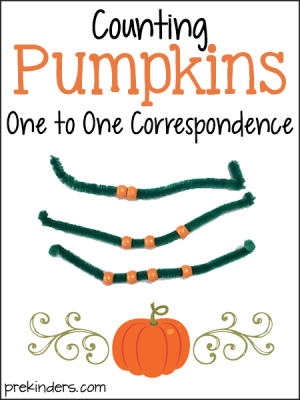 Counting Pumpkins: Teaching One-to-One Correspondence in Pre-K
