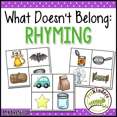 What Doesn't Belong Rhyming (TPT)