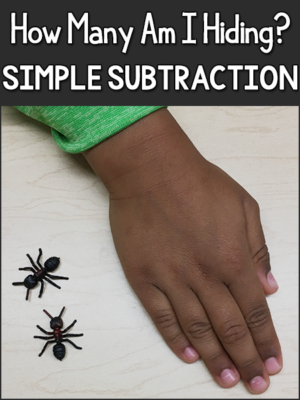 Subtraction Game for Pre-K, Preschool