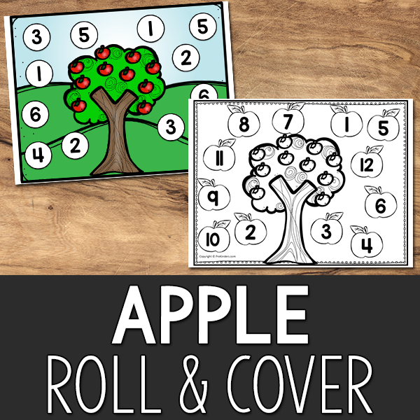 Apple Roll and Cover Game