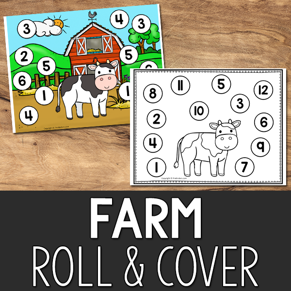 Farm Roll and Cover Game