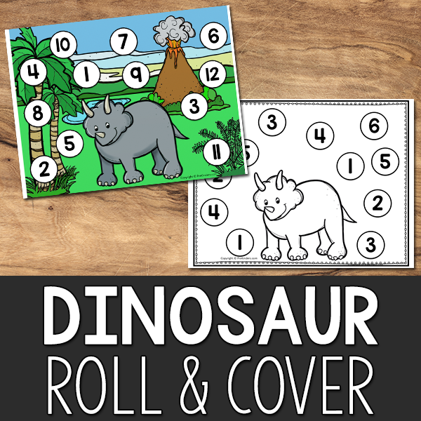 Dinosaur Roll and Cover