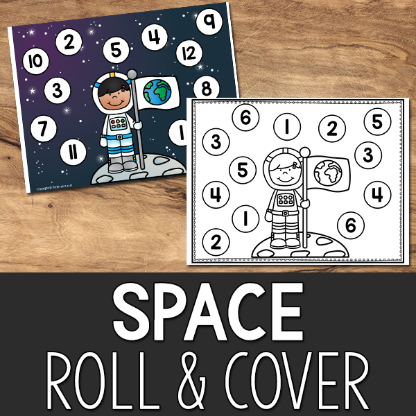 Space Roll and Cover Game