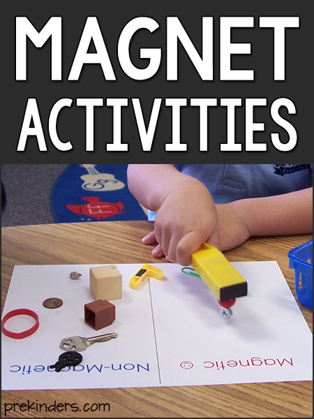 Magnet Activities: Science for Preschool & Pre-K