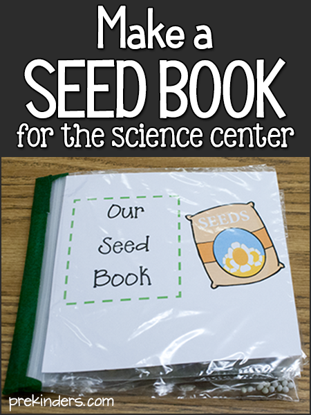 Make a Seed Book for the Science Center