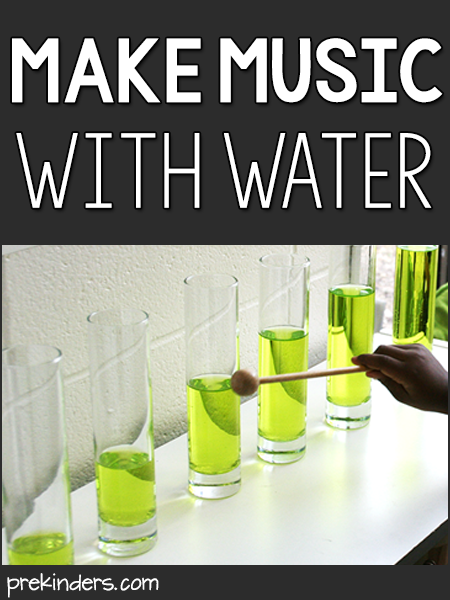 Make Music with Water: Science Center