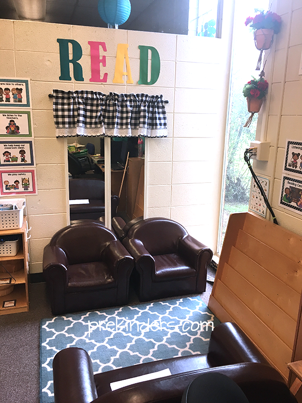 Reading Center Classroom Photo