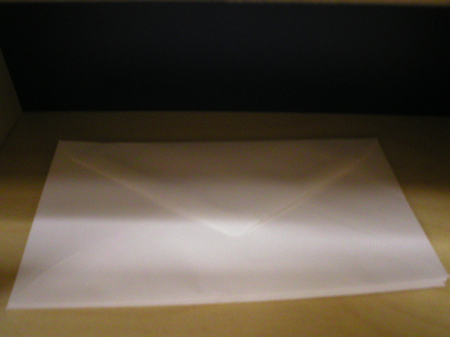 Writing Center Envelopes