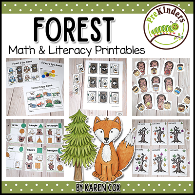 Forest Theme Math &. Literacy Printables