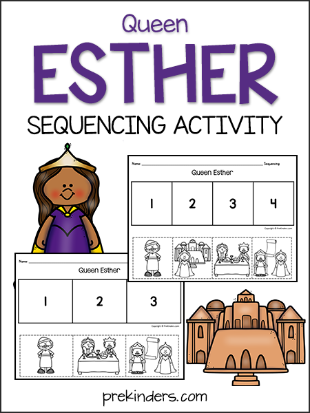 Queen Esther Sequencing Activity