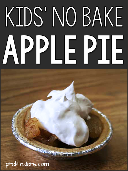 apple pie for kids to cook