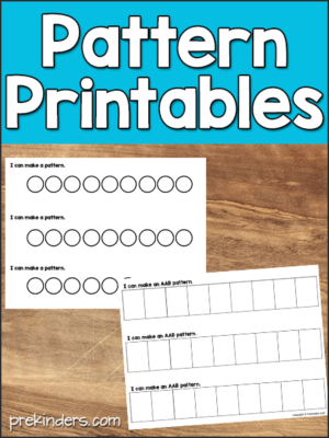 Pattern Printables for Math