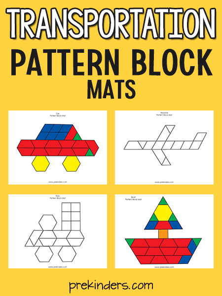 Transportation Pattern Block Mats