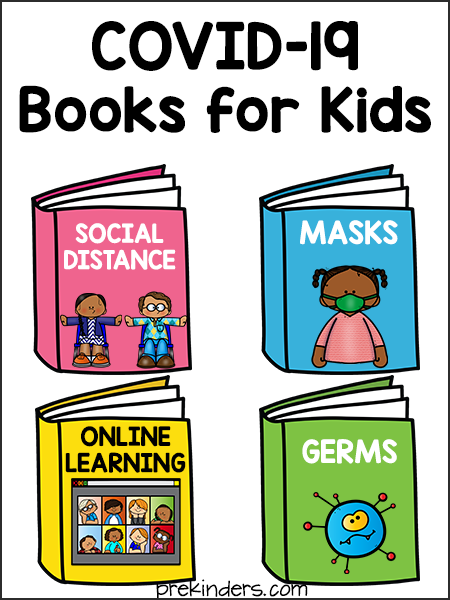 Covid-19 Books for Preschool Kids: Social Distancing, Masks, Germs