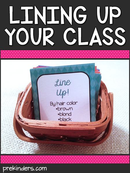 Lining Up Your Class